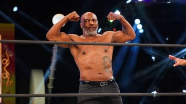 Mike Tyson is now a regular on AEW