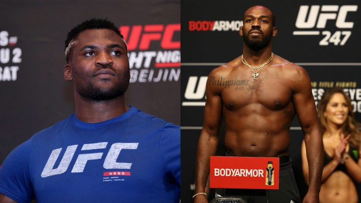 Francis Ngannou vs Jon Jones could happen in the future