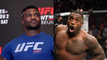 Francis Ngannou had a great message for UFC star Walt HArris