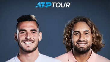 The ATP decided to spice things up a little bit by swapping the hairstyles of Stefanos Tsitsipas and Nick Kyrgios.