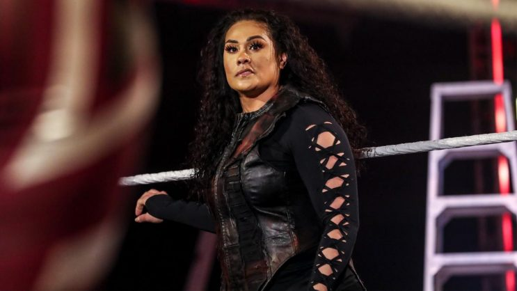 Tamina is the daughter of WWE legend Jimmy Snuka