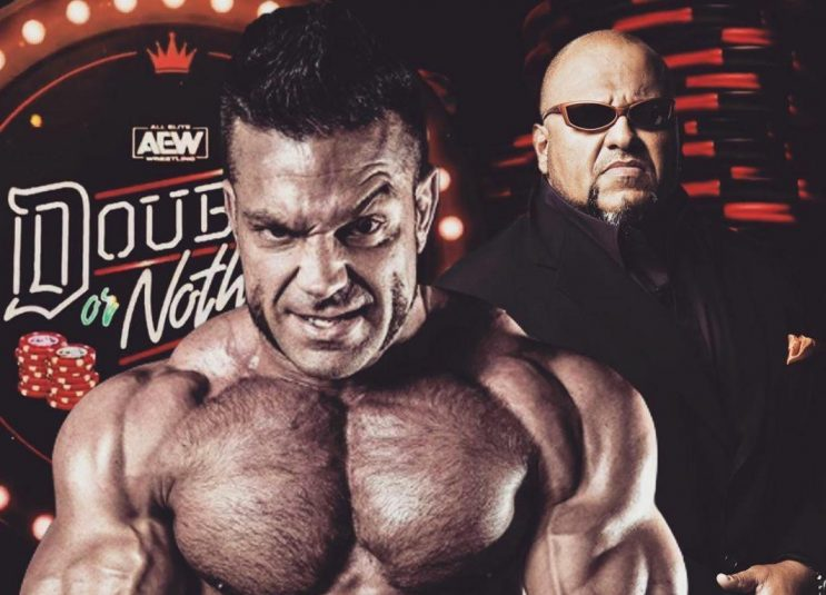 Brian Cage is the newest signing for AEW and is working with Taz