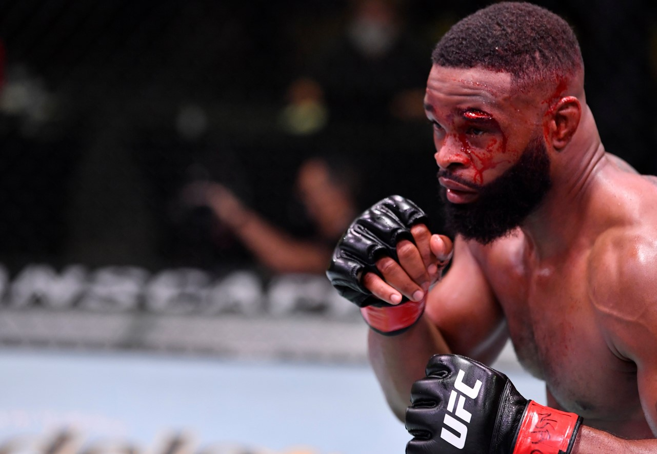 Tyron Woodley believes Masvidal can beat Usman at UFC 261