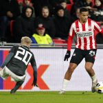 Dutch midfielder Mohamed Ihattaren of PSV Eindhoven dribbles past a Rosenborg BK during a Europa League encounter between both the sides in last December.