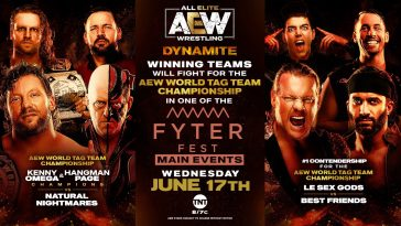There are some big matches set for AEW Dynamite this week