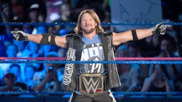 AJ Styles is a two-time WWE Champion
