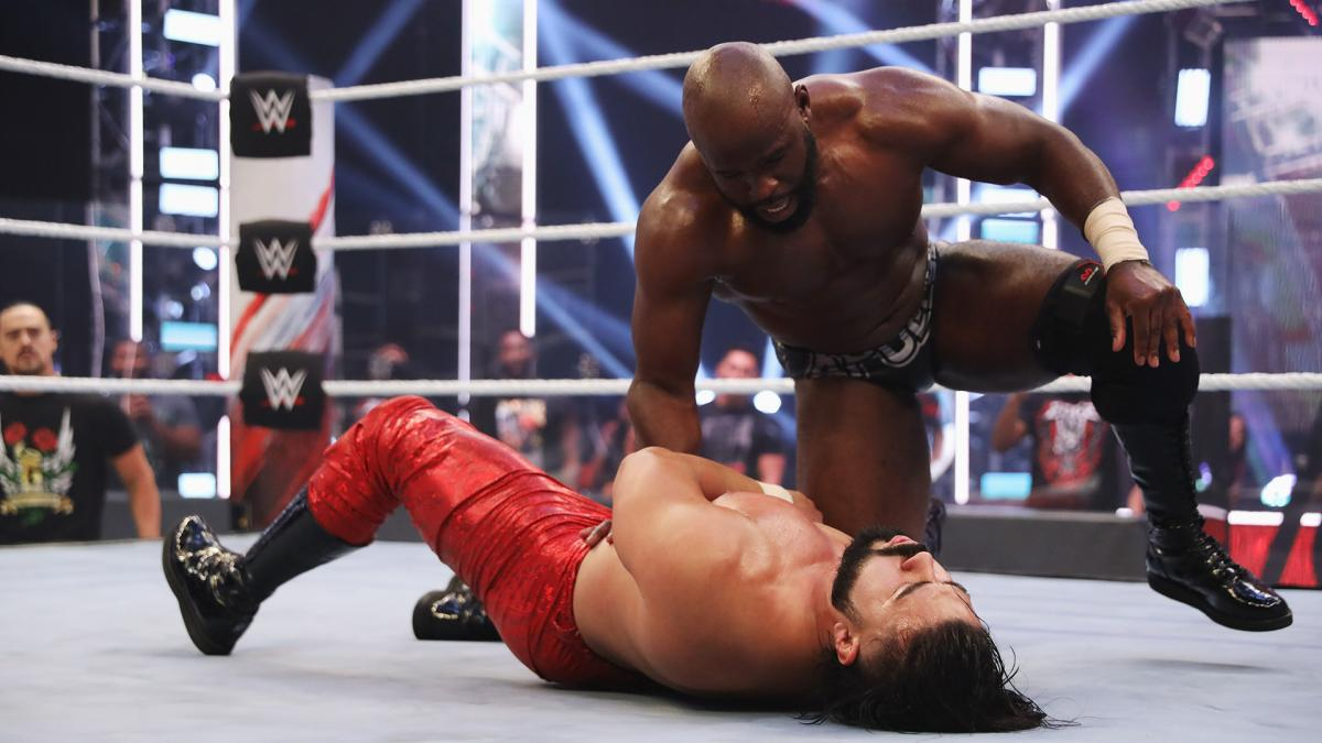 Apollo Crews got the better of Andrade