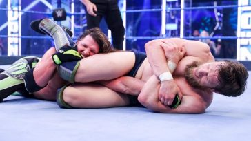 AJ Styles and Daniel Bryan faced off for the Intercontinental title