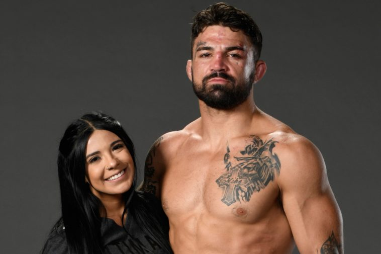 Mike Perry and his girlfriend Latory Gonzalez
