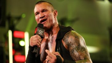 Randy Orton came out to open this week's Raw