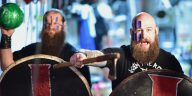 Erik and Ivar are the Viking Raiders in WWE