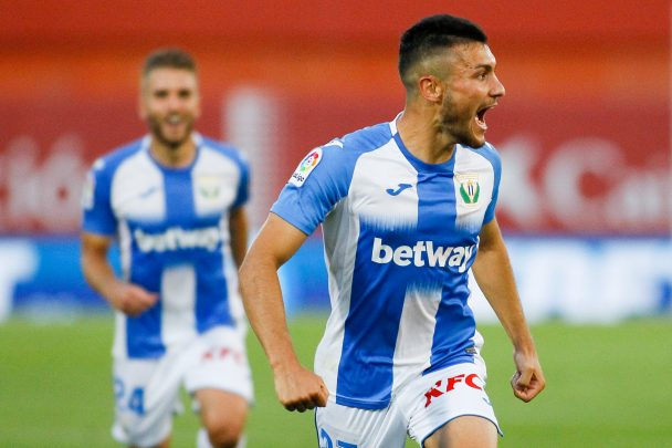 Socar Rodriguez has been in sensational from since joining Leganes on loan (Getty Images)