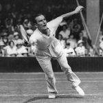 British tennis player Fred Perry became the first tennis player to win all four Grand Slams when he attained the feat in back in 1935.