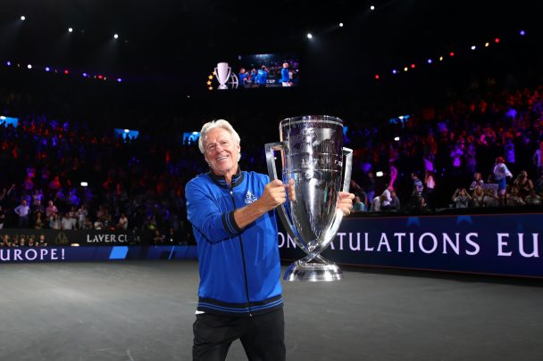 Swede Bjorn Borg is a former World no.1 and 11-time Grand Slam winner.