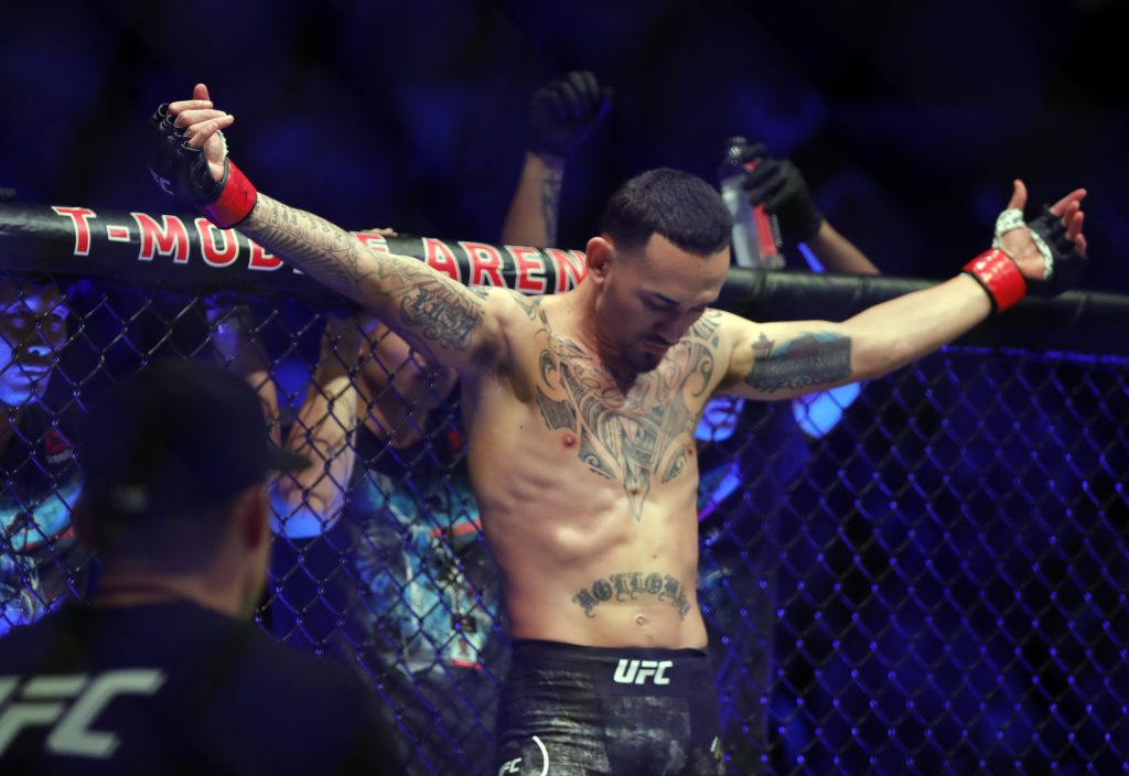 Max Holloway says he wants to take on Stipe Miocic for 'The Daddest Man on the Planet' title.