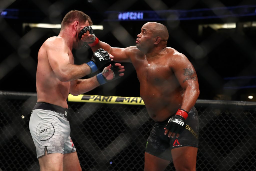 Daniel Cormier vs Stipe Miocic 3 will take place at UFC 252