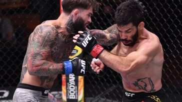 Raphael Assuncao was knocked out cold by Cody Garbrandt