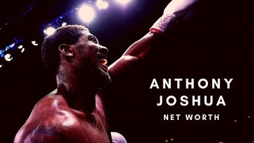 Anthony Joshua has earned a huge net worth thanks to his boxing career