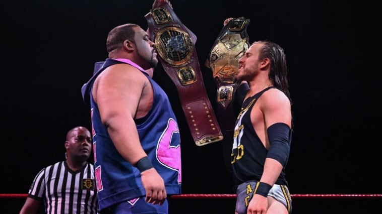 Adam Cole and Keith Lee faced off in the main event of the Great American Bash Day 2