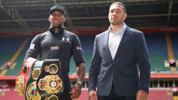 Anthony Joshua will be facing Kubrat Pulev in one of the biggestb upcoming boxing fights of 2020