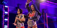 Sasha Banks and Bayley are double champions