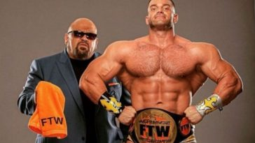 Brian Cage is the FTW Champion