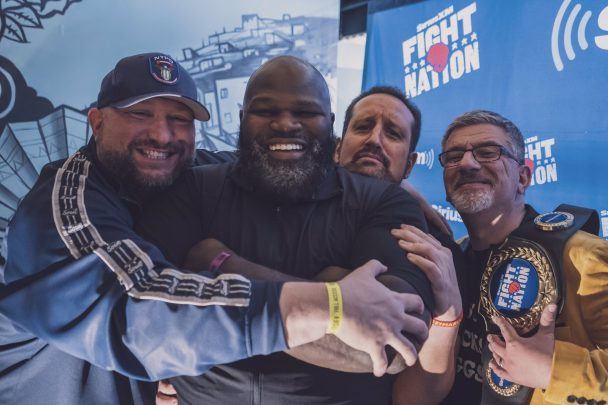 Bully Ray, Mark Henry, Tommy Dreamer and Dave LaGreca are the co-hosts of the Busted Open podcast