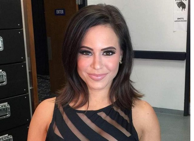 WWE Presenter Charly Caruso was rumoured to have left WWE because of 'backstage heat' with Randy Orton and Sheamus.