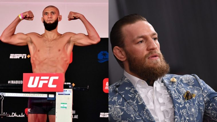 Khamzat Chimaev wants to next fight Conor McGregor