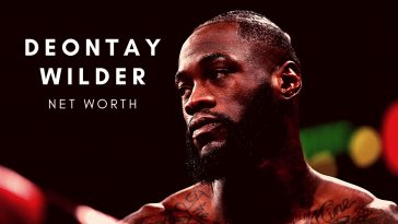 Deontay Wilder has a huge net worth thanks to his boxing career
