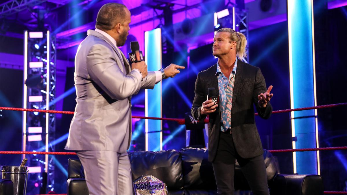 MVP and Dolph Ziggler on the VIP Lounge