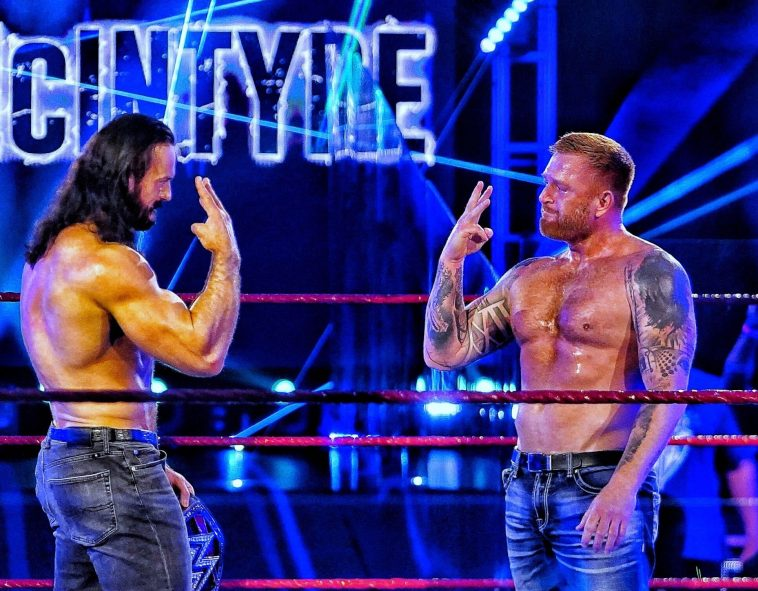 Drew McIntyre and Heath Slater were reunited on Raw