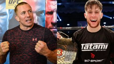 Georges St-Pierre is one of Jack Shore's favourite UFC stars