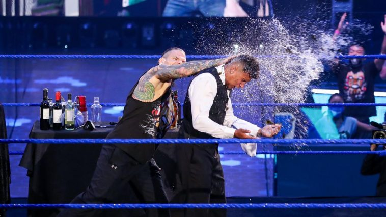 Jeff Hardy attacked Sheamus' bartender