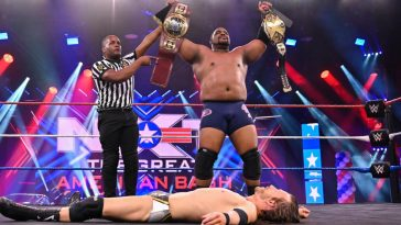 Keith Lee created history on WWE NXT