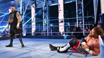 Kevin Owens vs Murphy kicked off Extreme Rules 2020