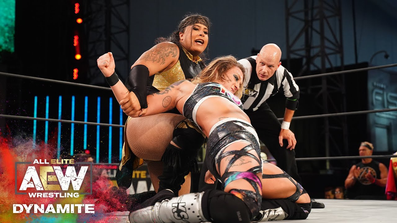 Kris Statlander suffered an injury during a match against Nyla Rose and Penelope Ford (AEW)