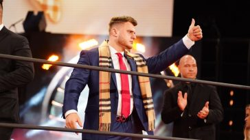 MJF aims to take the AEW World Title away from Jon Moxley