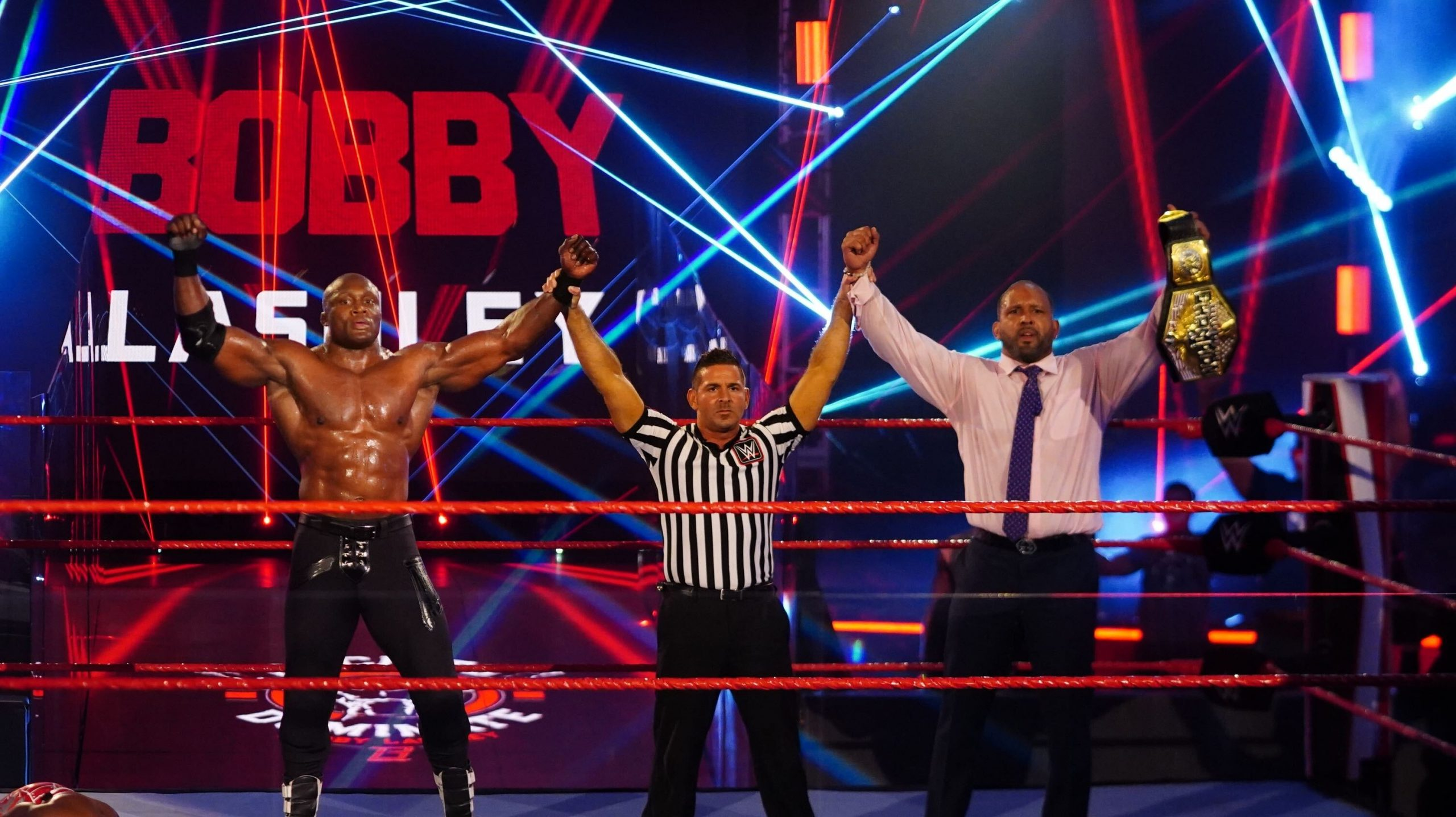 MVP and Lashley picked up another win