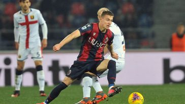 Mattias Svanberg in action for Bologna against Genoa (Getty Images)