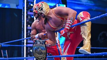 Gran Metalik faces AJ Styles for the Intercontinental title