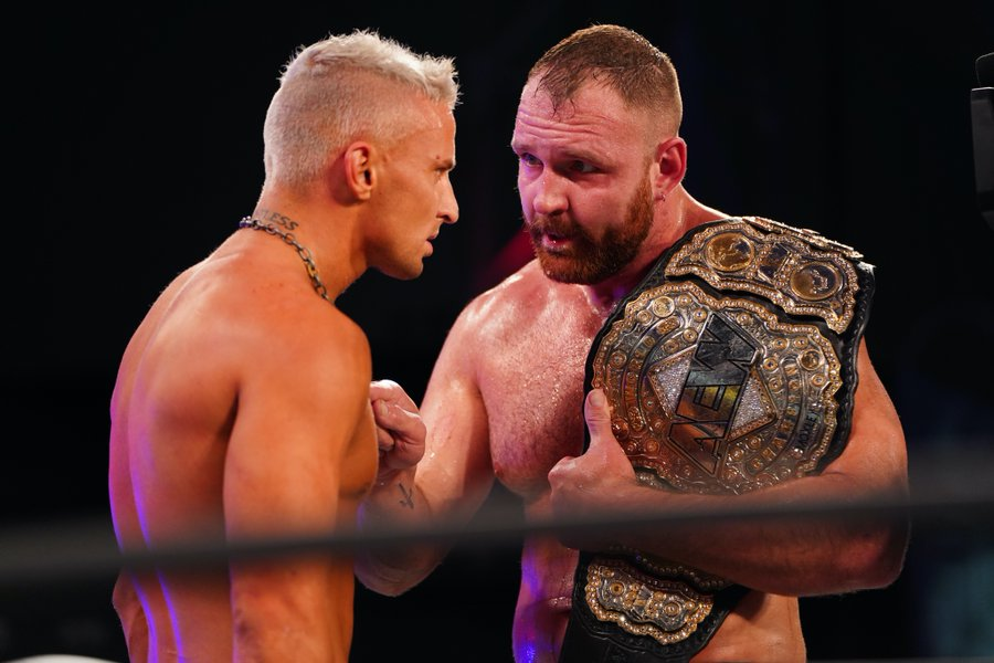 Jon Moxley and Darby Allin teamed up on AEW Dynamite
