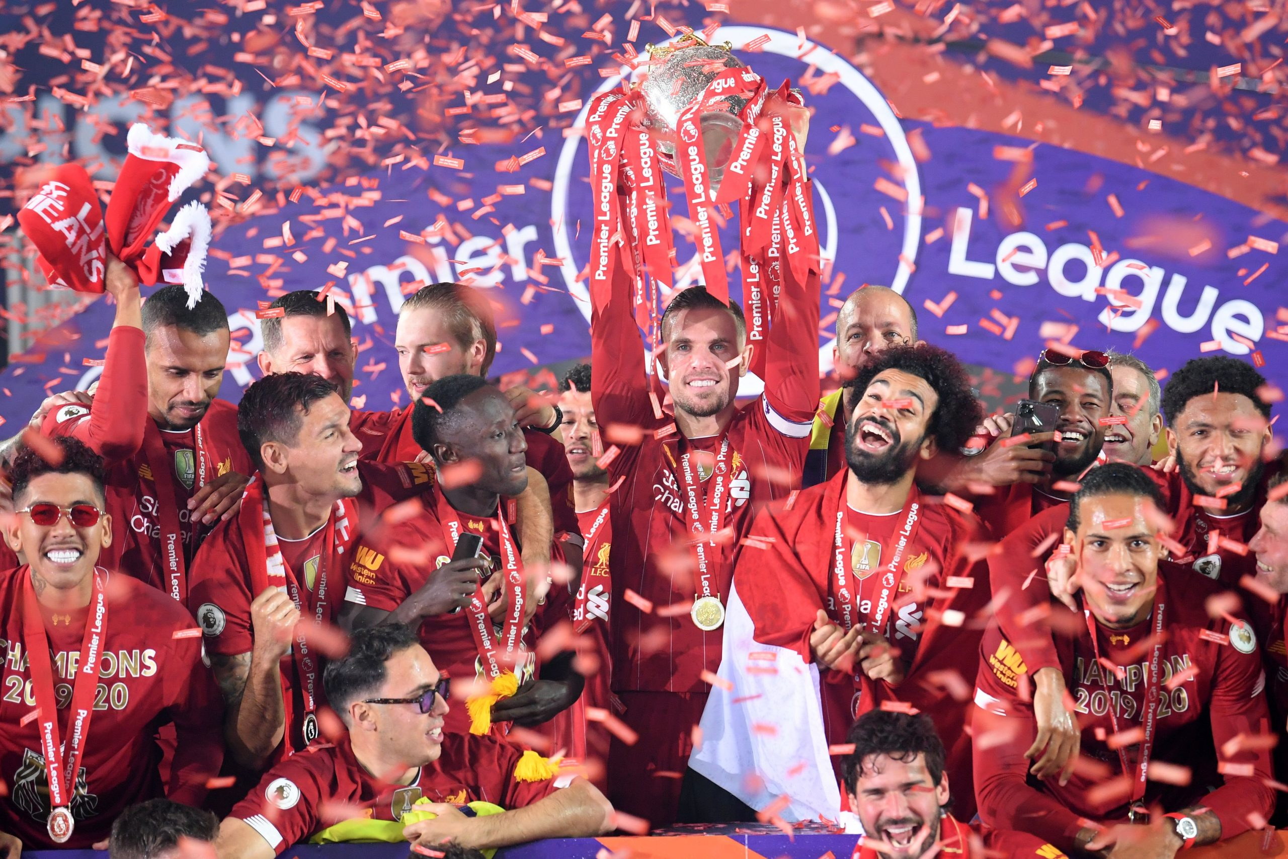 Liverpool win the Premier League title for the first time in the modern era (Getty Images)