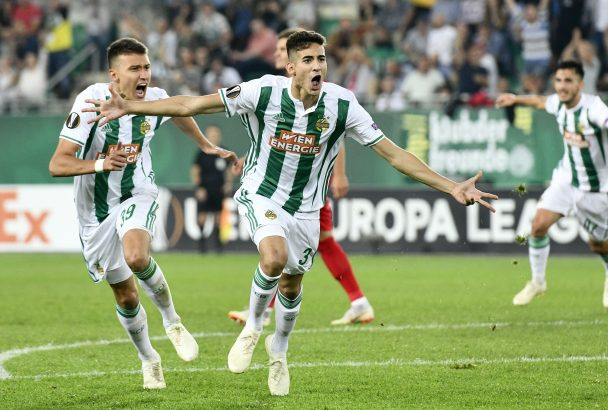 Dejan Ljubicic has been in sensational form for Rapid Vienna this season (Getty Images)