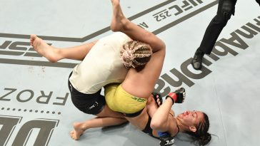 Amanda Ribas got a great win over Paige VanZant