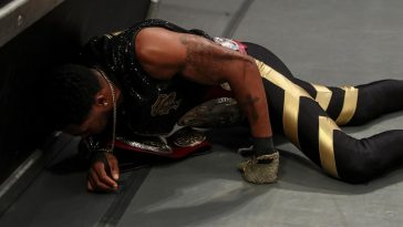 Monztez Ford collapsed suddenly on Raw amidst rumours of getting poisoned (WWE)