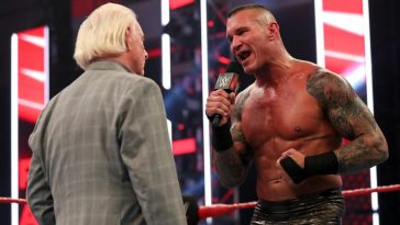 Randy Orton speaks with Ric Flair on this week's Raw