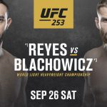 Dominick Reyes takes on Jan Blachowicz for the vacant UFC Light Heavyweight title