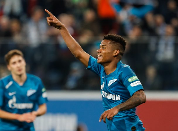 Wilmar Barrios celebrates after scoring a goal (Getty Images)