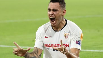 Lucas Ocampos has been in sensational form for Sevilla this season (Getty Images)